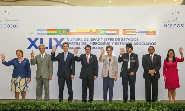 cupula mercosul presidentes america latina conferência