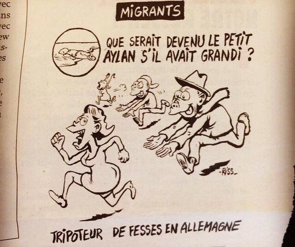 Charlie Hebdo charge