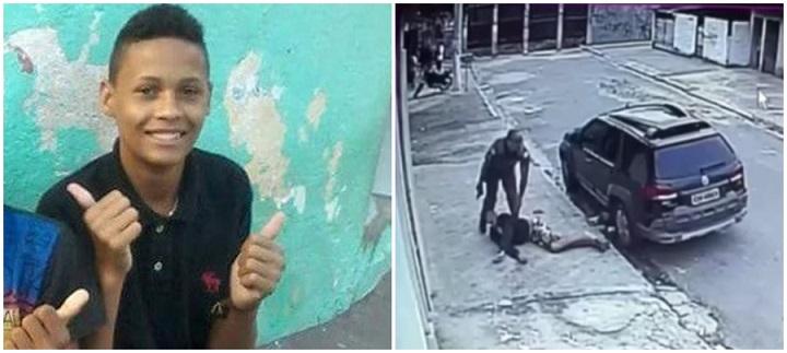 PM jovem tiro assassinado costas