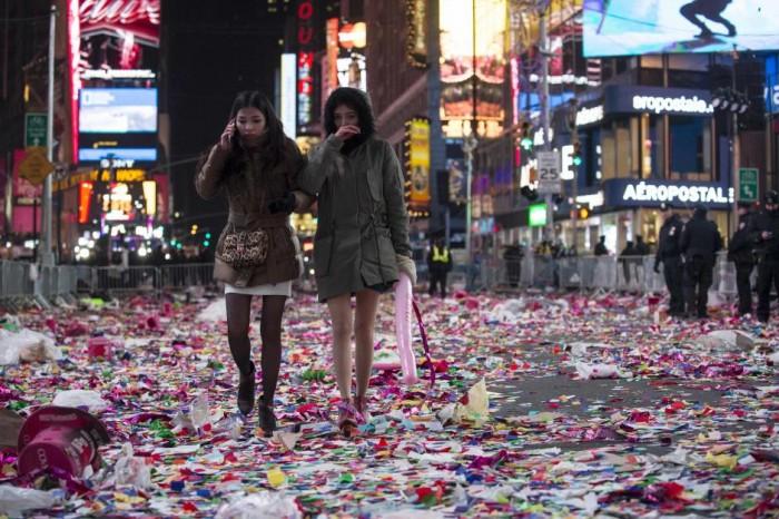 Réveillon Nova York Times Square