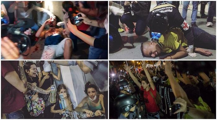 PM SP MBL manifestação violência