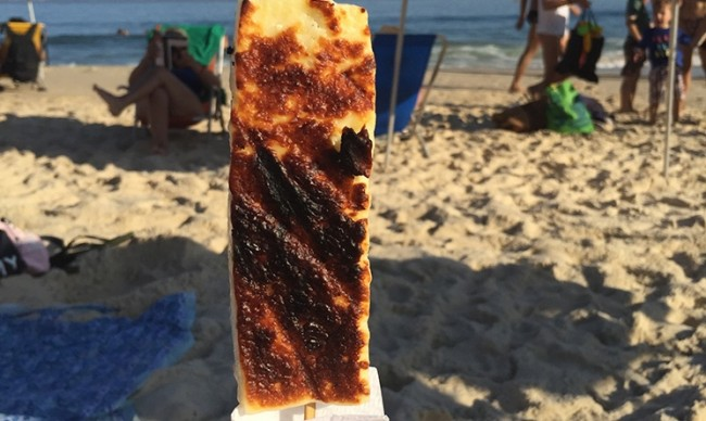 Queijo coalho praias Brasil