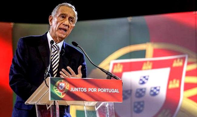 novo presidente Portugal Marcelo Rebelo de Sousa