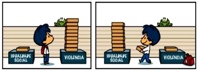 violência guerra brasil paz