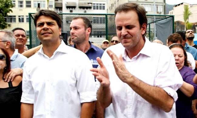 candidato prefeito rio paes agressão mulher