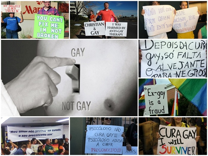 Cura gay mundo clínicas