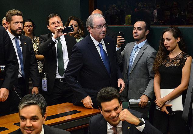 Eduardo Cunha Leonardo Picciani PMDB