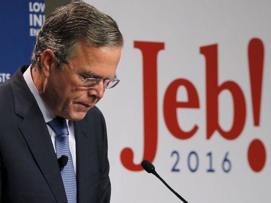 Jeb Bush campanha Hillary Trump