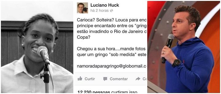 Luciano Huck Luana Tolentino