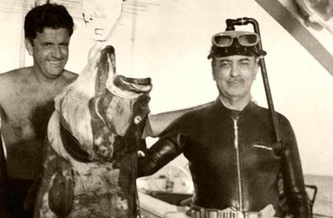 rede globo roberto marinho pesca submarina esnobar