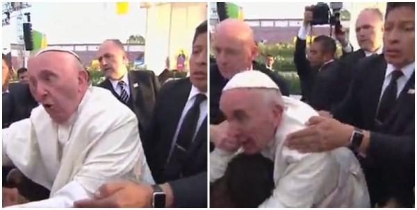 papa francisco cai México