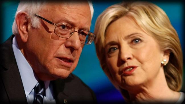 Bernie Sanders Hillary Clinton eleições eua
