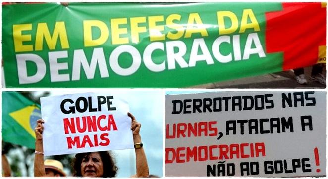 motivos ir as ruas 18 março democracia esquerda luta povo não vai ter golpe