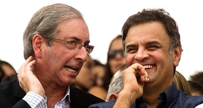 Corrupção sonegação Eduardo Cunha PMDB Aécio Neves PSDB paraísos fiscais