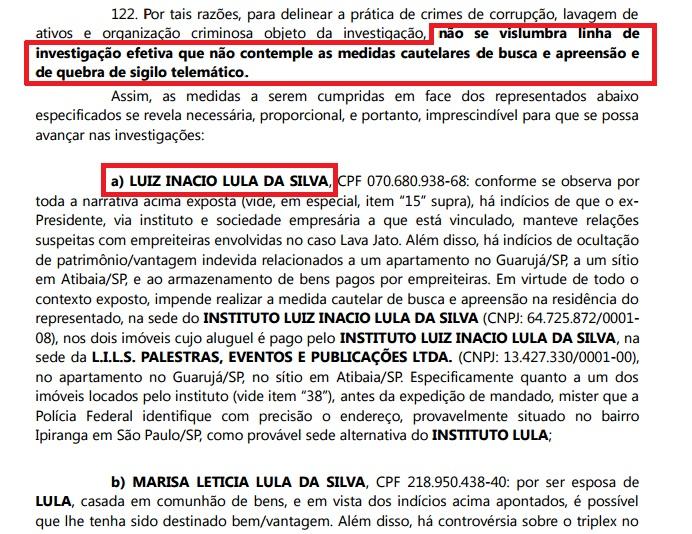 moro condução coercitiva Lula
