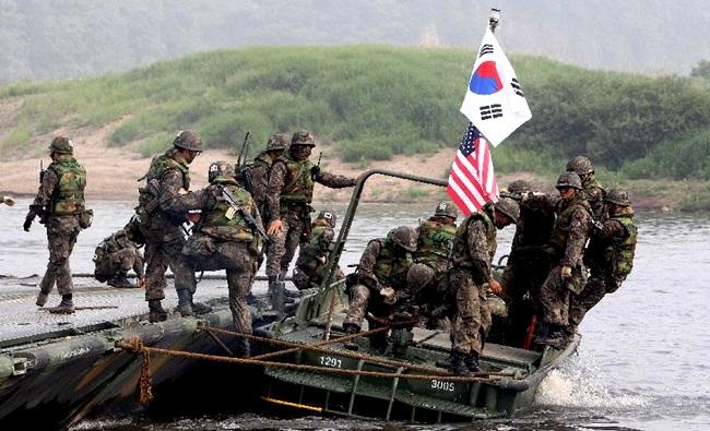 Militares da Coreia do Sul EUA ataque nuclear