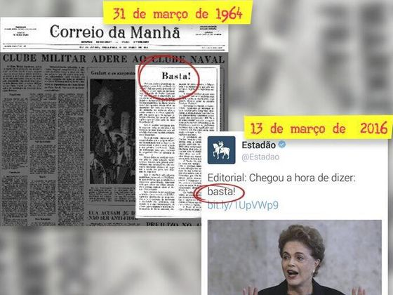 golpe 1964 2016 dilma jango