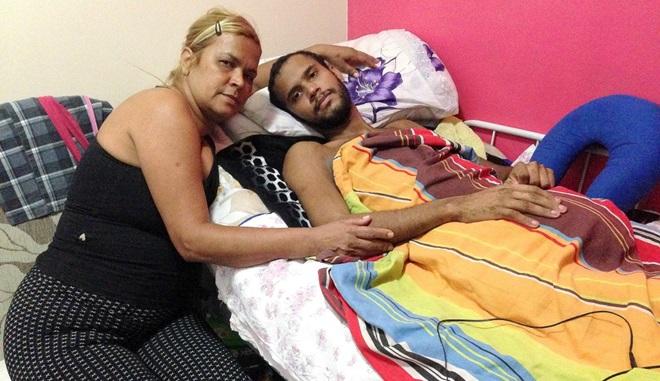 militares favela mares rio vitor paraplégico