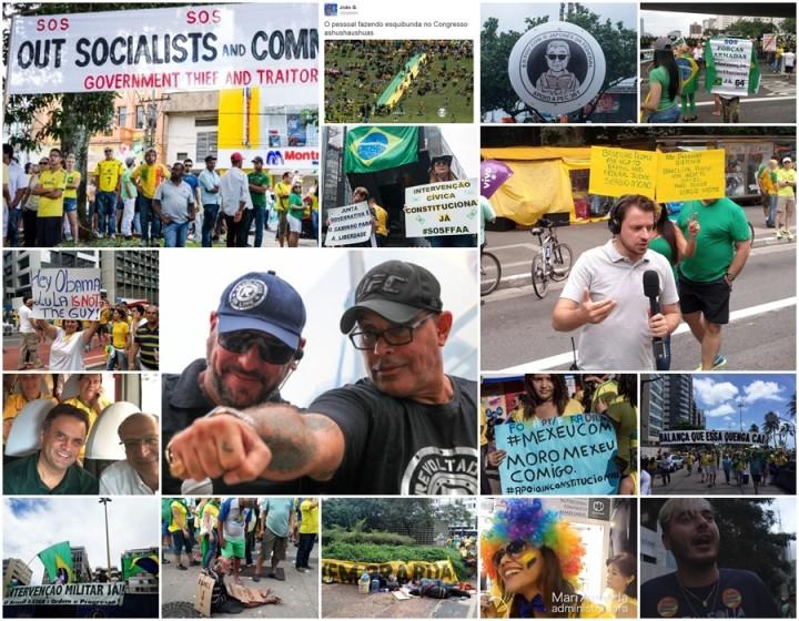 dilma manifestações imagens domingo impeachment