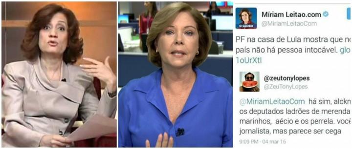 Miriam Leitão Lula Cantanhede Lava Jato