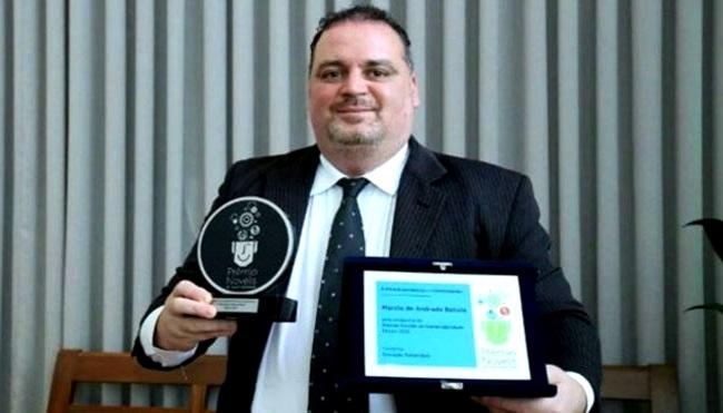 Márcio de Andrade Batista professor nobel da educação