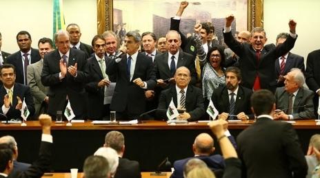 PMDB reunião governo dilma impeachment