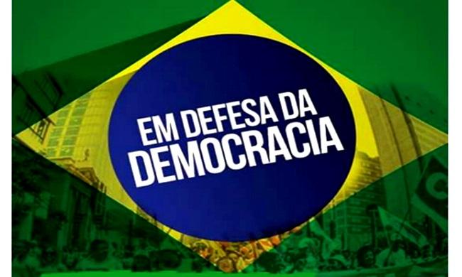reagir rua manifestação democracia não vai ter golpe