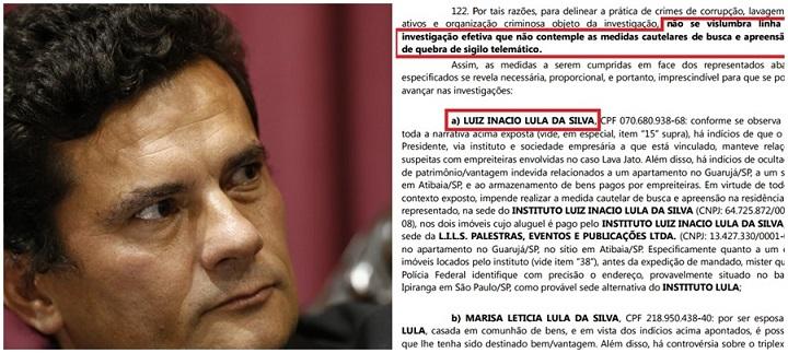 Moro Lula coercitiva Lava Jato