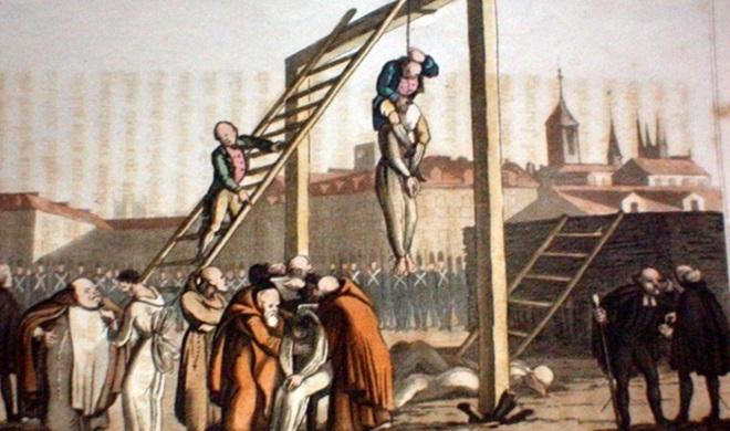 história pena de morte registro brasil