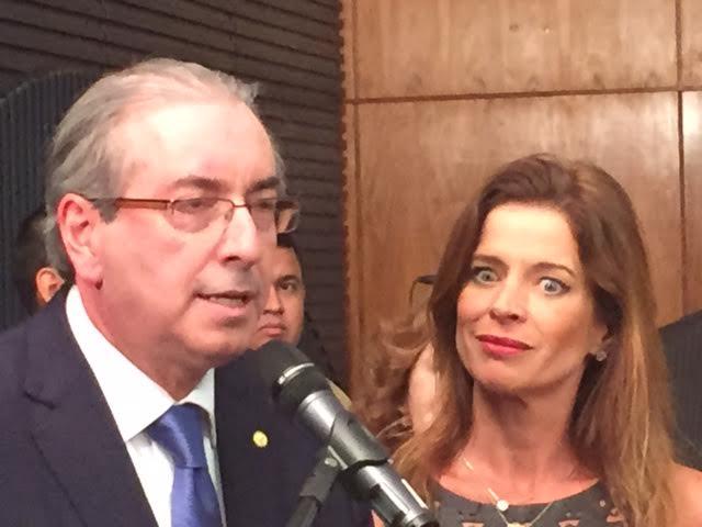 Eduardo Cunha Claudia Cruz esposa