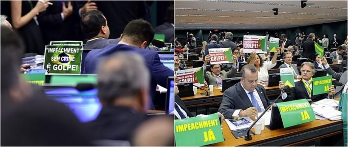 comissão do impeachment dilma votos
