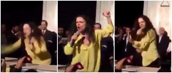 Janaina Paschoal discurso vídeo usp