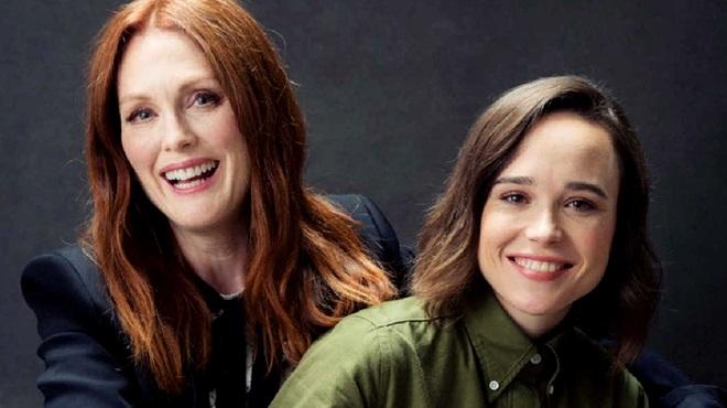 Julianne Moore Ellen Page sexualidade homossexualidade