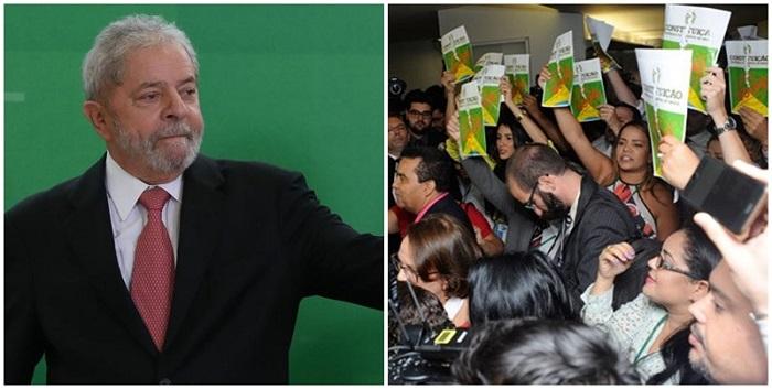lula frente parlamentar golpe 186 assinaturas
