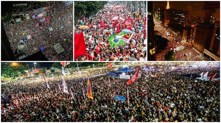 manifestações domingo 17 contra golpe onde