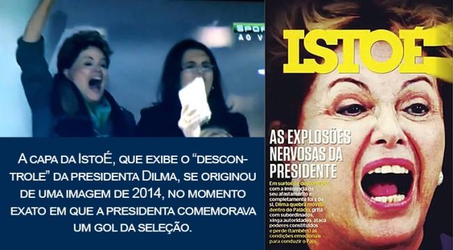Dilma capa revista istoé