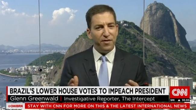 mídia internacional Glen Greenwald impeachment golpe dilma corrupção