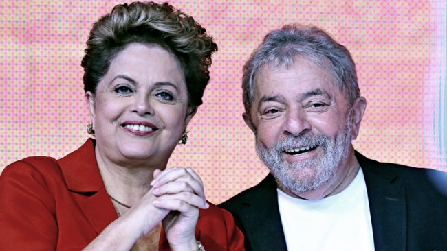 Resultado de imagem para Lula e Dilma