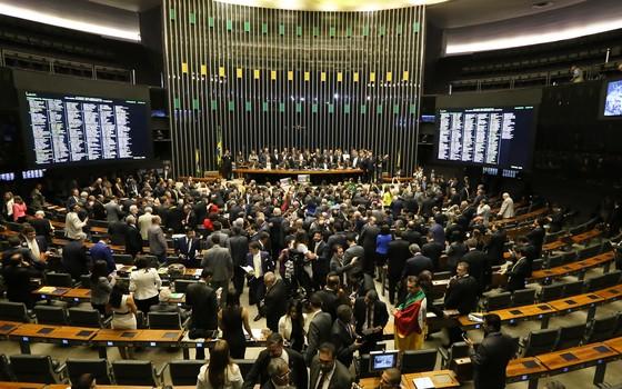 sessao impeachment ao vivo votação