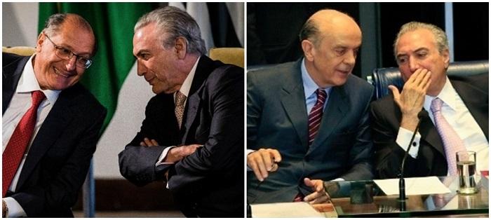 Michel Temer PSDB serra alckmin