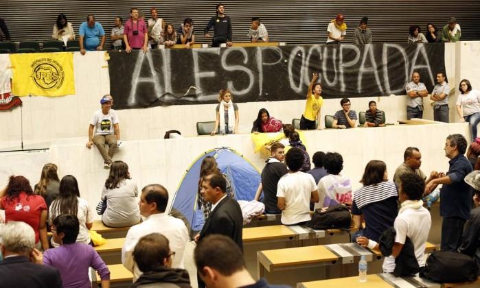 assembleia ocupada sp estudantes merenda