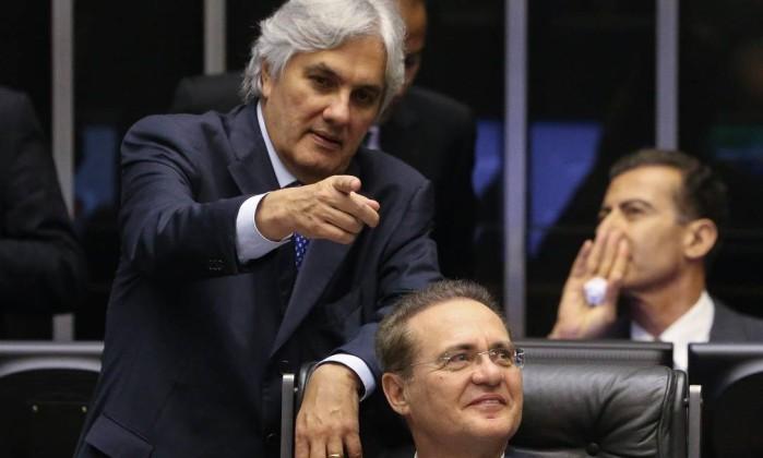 Delcídio do Amaral Renan Calheiros