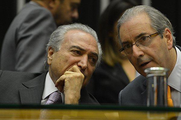 Michel Temer Eduardo Cunha