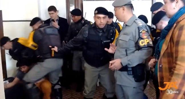 violências adolescentes RS Sefaz polícia militar
