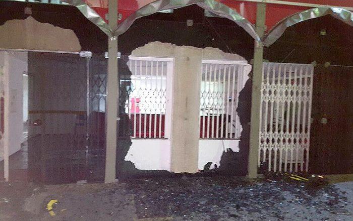 sede nacional PT atacada