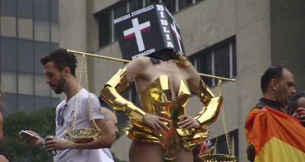 cristofobia bancada evangélica protesto projeto