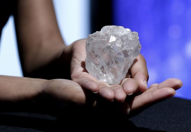 diamante mundo Lesedi la Rona