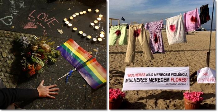 semelhança vítimas massacre Orlando estupro coletivo RJ