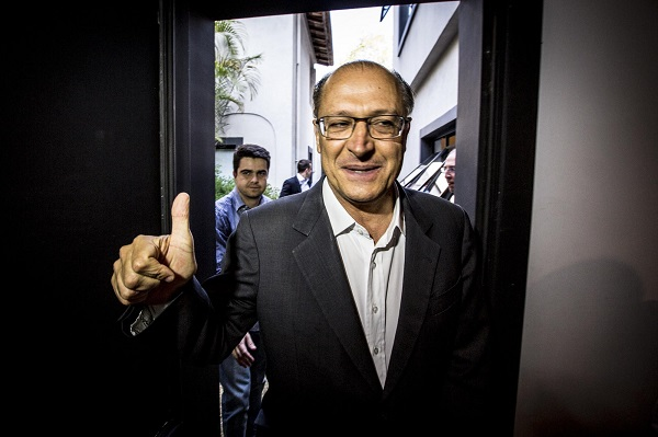 Geraldo Alckmin trens metrô sp