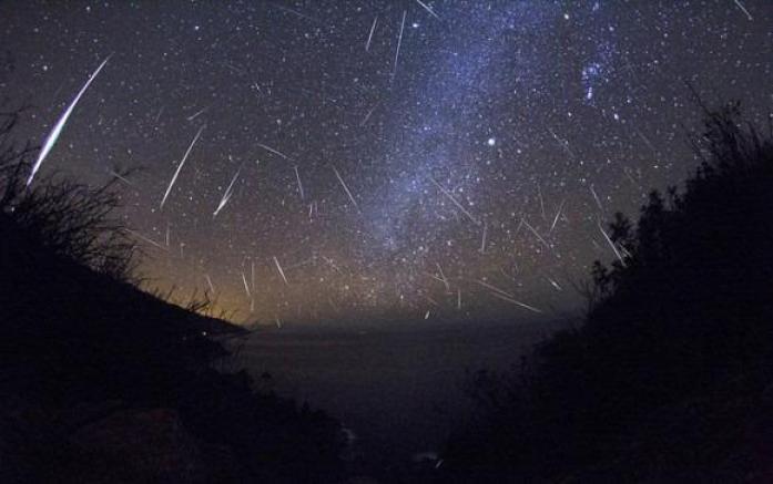 chuva meteorito observar fim de semana
